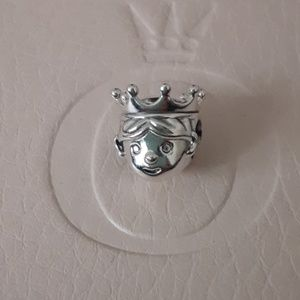 Authentic Pandora Princess Charm!